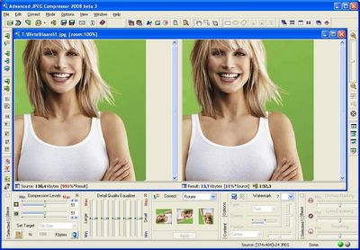 Скачать Advanced JPEG Compressor 2008 бесплатно