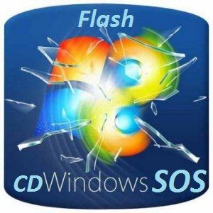 Скачать SOS-Win7PE-by-LBN CD & Flash II-XIII бесплатно