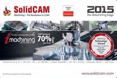 Скачать SolidCAM 2015 SP2 HF5 Multilanguage for SolidWorks 2012-2015 x86+x64 [2015, MULTILANG +RUS] бесплатно