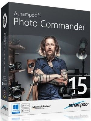 Скачать Ashampoo Photo Commander v15.1.0 RePack+Portable by Dodakaedr [2017, ENG + RUS] бесплатно