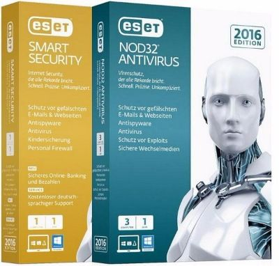 Скачать ESET Smart Security / NOD32 Antivirus 9.0.386.1 x86 x64 [2016, RUS] бесплатно