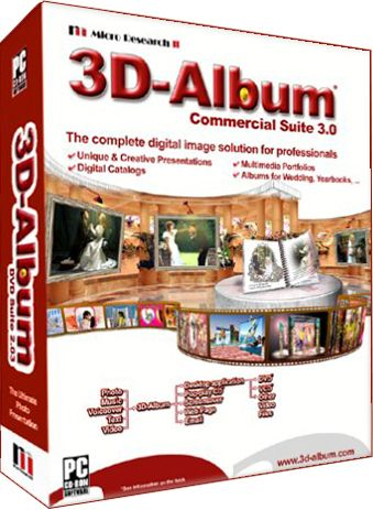 Скачать 3D-Album Commercial Suite 3.30 full бесплатно