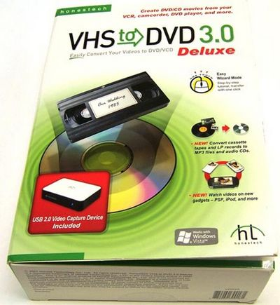 Скачать Honestech VHS to DVD Deluxe 3.0 бесплатно