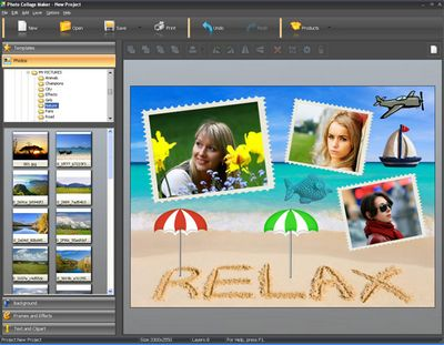 Скачать AMS Software Photo Collage Maker 2.35 + Portable бесплатно
