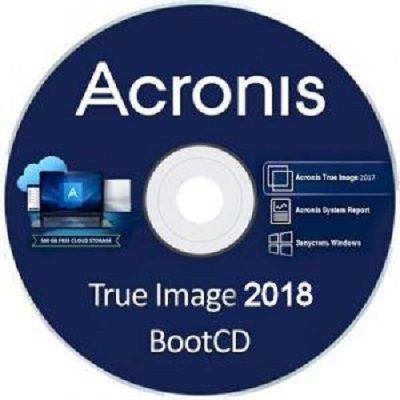 Скачать Acronis True Image 2018 22.5.1 Build 10640 BootCD [MULTI/RUS] бесплатно