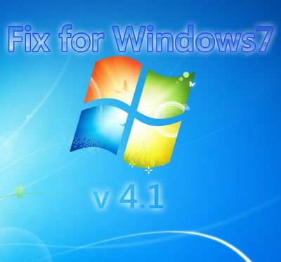 Скачать Fix for Windows 7 v4.1 бесплатно